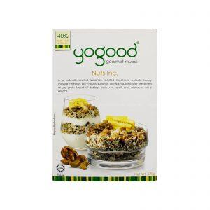 yogood gourmet muesli nuts