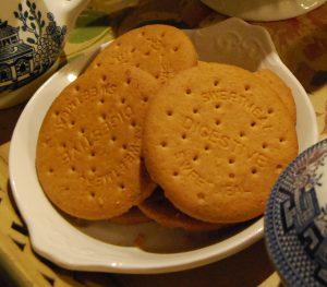 Bánh quy hỗ trợ tiêu hóa