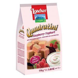 loacker quadratini raspberry yoghurt
