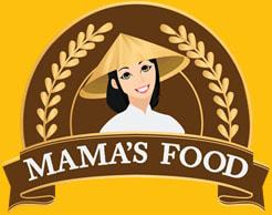 logo cửa hàng quà tặng mamafood