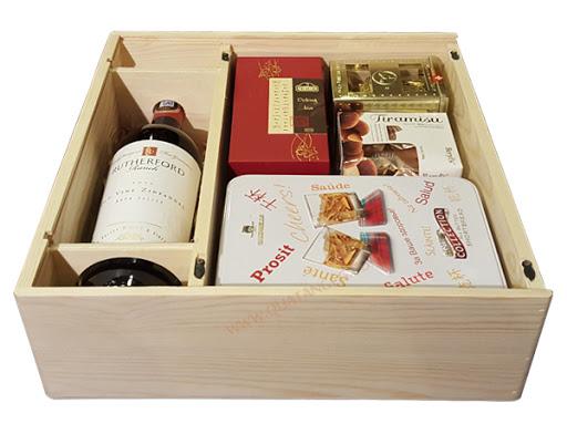 hộp quà tết bằng gỗ