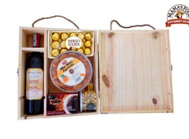 Hộp quà tết gỗ