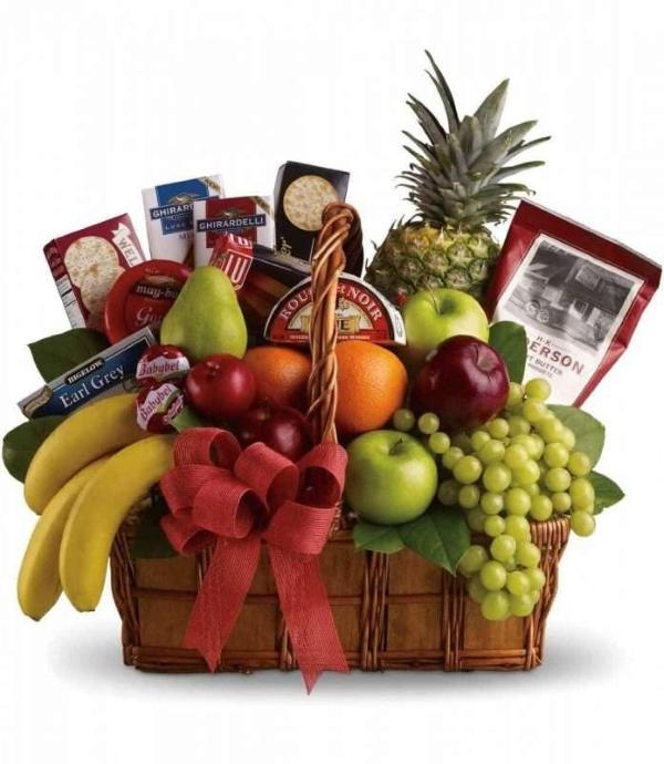 mua giỏ quà tết trái cây