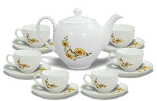 Bộ tách trà có giá phải chăng, thích hợp làm quà tặng công nhân