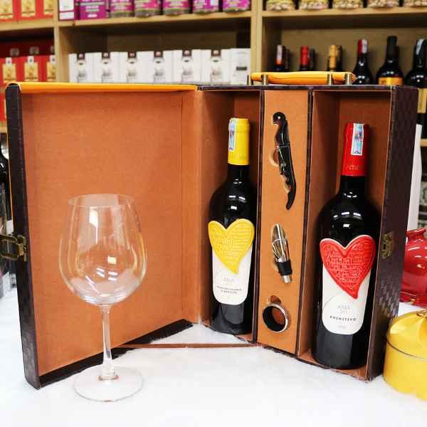 quà tết giá sỉ The Wine box