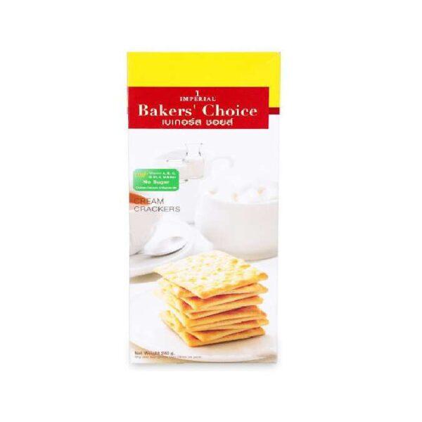 Bánh không đường Baker's Choice 120g (HỘP)
