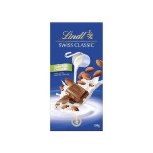 Lindt Tablet Swiss Classic Milk Almond