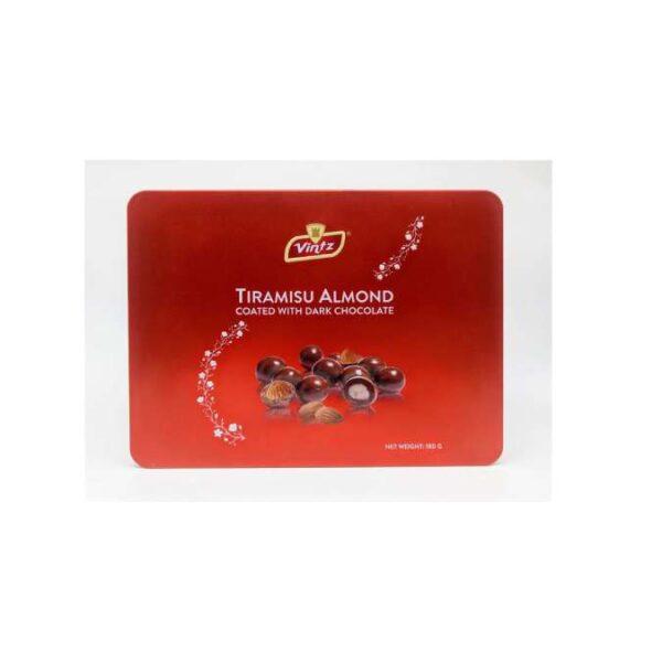 Socola Tiramisu almond - Novas 180g (hộp)