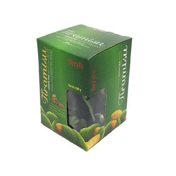 Socola Beryls 100g Tira Green Tea (Tiramisu xanh lá)