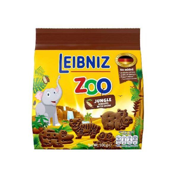 Bánh quy cacao hình thú rừng nhiệt đới Bahlsen Zoo Leibniz Đức