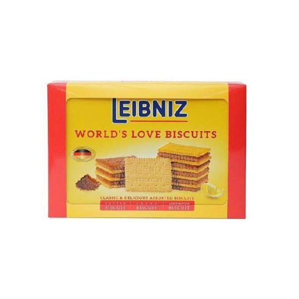 Hộp bánh Leibniz World's Love biscuits
