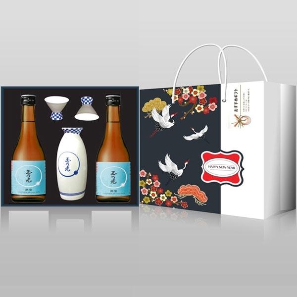 Hộp quà rượu sake tặng tết