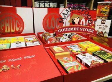 Hộp quà tết truyền thống bán tại Mamafood