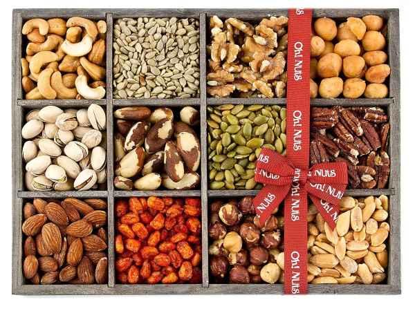 Hạt dinh dưỡng đang trở thành xu hướng quà tặng Tết trong vài năm trở lại đây