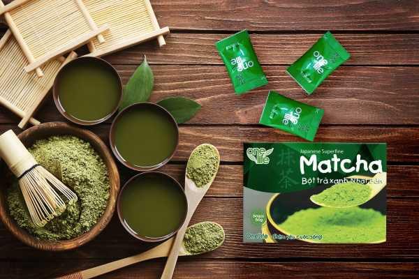 Matcha trà xanh Nhật