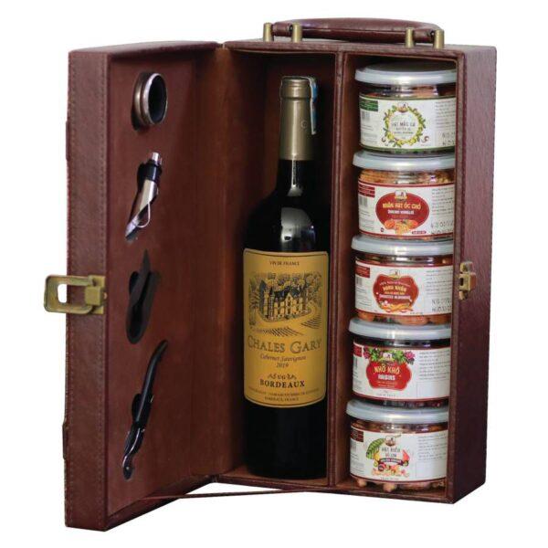 hộp quà tết the wine box 01