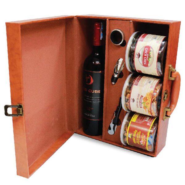hộp quà tết the wine box 02