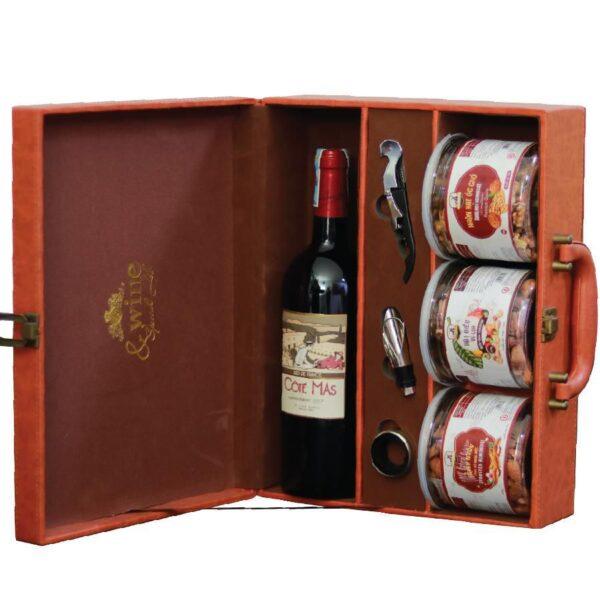 hộp quà tết the wine box 03